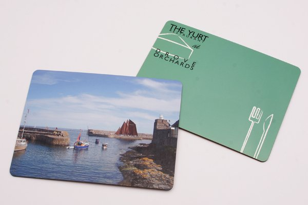 photo table mats photo gift