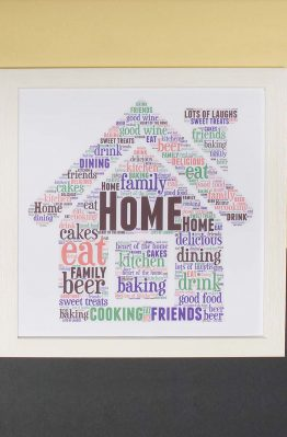 Home Word Art