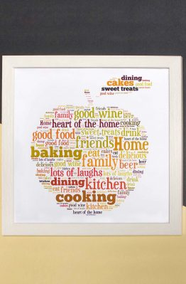 Kitchen Word Art