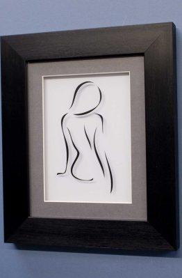 Figure Line Designs No1 Black