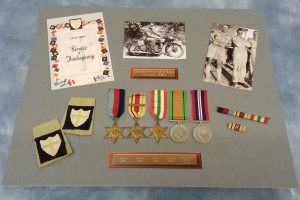 Medals and memorabilia layout ofr frame version 1